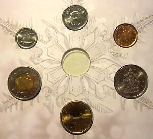 CANADA   SET OF 6 COINS  2011  BU  FROM OFFICIAL MINT SET