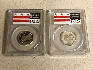 Click now to see the BUY IT NOW Price! 2009 S COMPLETE US TERRITORIES QUARTER COLLECTION   CLAD/SILVER   PCGS PR69DCAM
