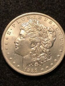 1888 O MORGAN SILVER DOLLAR LOTS OF LUSTER. GREAT DETAILS