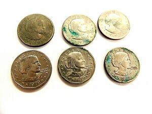 1979 SUSAN B. ANTHONY U.S.DOLLAR COINS