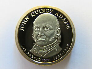 JOHN QUINCY ADAMS 2008 S PRESIDENTIAL 1 DOLLAR SAN FRANCISCO PROOF COIN $1 PR PF