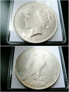 1923   P   PEACE SILVER DOLLAR CHOICE UNC BU COIN
