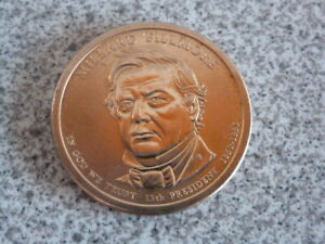 2010 D MILLARD FILLMORE 13TH PRESIDENTIAL U.S. ONE DOLLAR COIN