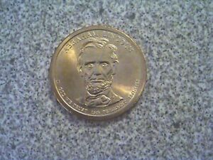 2010 P ABRAHAM LINCOLN 16TH PRESIDENTIAL U.S. ONE DOLLAR COIN