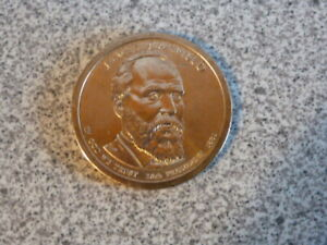 2011 P JAMES GARFIELD 20TH PRESIDENTIAL U.S. ONE DOLLAR COIN
