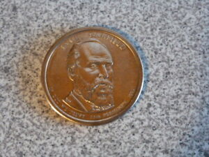 2011 D JAMES GARFIELD 20TH PRESIDENTIAL U.S. ONE DOLLAR COIN