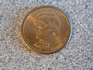 2011 D ANDREW JOHNSON 17TH PRESIDENTIAL U.S. ONE DOLLAR COIN
