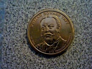 2013 D WILLIAM TAFT 27TH PRESIDENTIAL U.S. ONE DOLLAR COIN