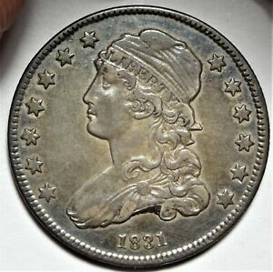 1831 CAPPED BUST QUARTER CHOICE LY FINE TO ALMOST UNCIRCULATED XF AU 25C