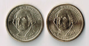 2007 P & D GEORGE WASHINGTON PRESIDENTIAL DOLLARS SET
