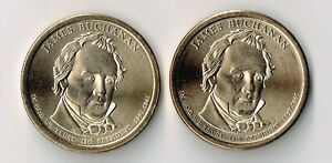 2010 P & D JAMES BUCHANAN PRESIDENTIAL DOLLARS SET