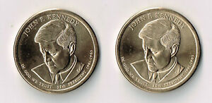 2015 P & D JOHN F KENNEDY PRESIDENTIAL DOLLARS SET