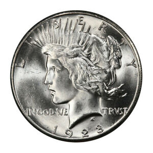 Click now to see the BUY IT NOW Price! 1928 $1 PEACE DOLLAR PCGS MS66 3170 24