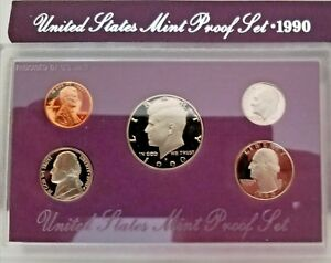 1991  US MINT ORIGINAL COMPLETE PROOF SET IN PRESENTATION CASE & PROTECTIVE BOX