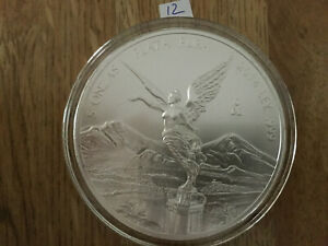 Click now to see the BUY IT NOW Price! 2014 5 OZ SILVER MEXICAN LIBERTAD .999 SILVER BULLION BU IN AIR TITE MEXICO 12