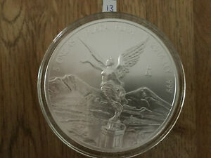 Click now to see the BUY IT NOW Price! 2014 5 OZ SILVER MEXICAN LIBERTAD .999 SILVER BULLION BU IN AIR TITE MEXICO 13