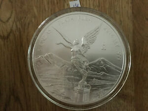 Click now to see the BUY IT NOW Price! 2014 5 OZ SILVER MEXICAN LIBERTAD .999 SILVER BULLION BU IN AIR TITE MEXICO 14