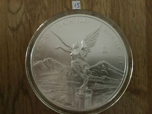 Click now to see the BUY IT NOW Price! 2014 5 OZ SILVER MEXICAN LIBERTAD .999 SILVER BULLION BU IN AIR TITE MEXICO 15