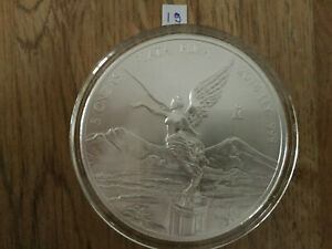 Click now to see the BUY IT NOW Price! 2014 5 OZ SILVER MEXICAN LIBERTAD .999 SILVER BULLION BU IN AIR TITE MEXICO 19