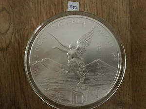 Click now to see the BUY IT NOW Price! 2014 5 OZ SILVER MEXICAN LIBERTAD .999 SILVER BULLION BU IN AIR TITE MEXICO 20