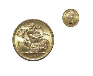 PRE OWNED 1967 FULL SOVEREIGN 22CT GOLD COIN   QUEEN ELIZABETH II
