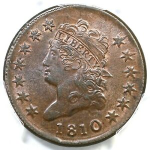Click now to see the BUY IT NOW Price! 1810 S 283 R 2 PCGS MS 64 BN TCC1 CAC CLASSIC HEAD LARGE CENT COIN 1C