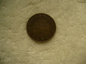 1920 CANADA LARGE ONE CENT PENNY