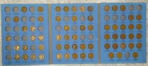 63 COIN SET 1909 1940 LINCOLN WHEAT PENNY CENT    EARLY DATES COLLECTION   231