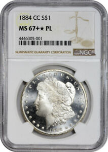 Click now to see the BUY IT NOW Price! 1884 CC $1 MORGAN SILVER DOLLAR NGC MS67  PL PROOF LIKE SHOULD BE MS68