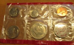 1971 U. S.1/2  MINT SET  THESE ARE THE DENVER COINS