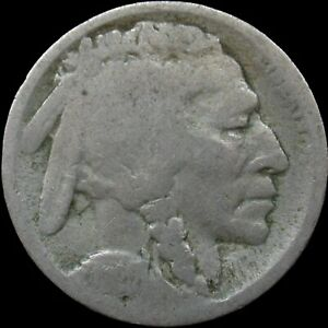 1920 S SAN FRANCISCO MINT BUFFALO NICKEL  152