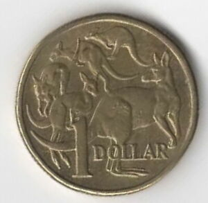 1984 AUSTRALIA ONE DOLLAR $1 COIN FIRST RELEASE OF $1.00            FREE POST