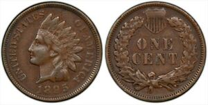 1895 INDIAN CENT SNOW 20 PCGS SECURE SHIELD