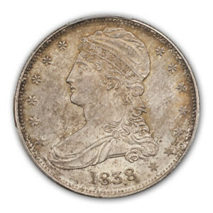 Click now to see the BUY IT NOW Price! 1838 50C REEDED EDGE CAPPED BUST HALF DOLLAR