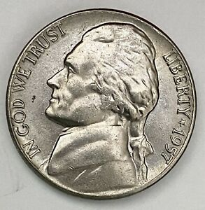 1957 D JEFFERSON NICKEL 5 CENTS UNCIRCULATED COIN  1771