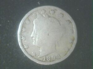 1893 LIBERTY NICKEL   GREAT GIFT IDEA     WILL SHIP FOR FREE     TAKE A LOOK