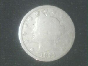 1891 LIBERTY NICKEL   GREAT GIFT IDEA     WILL SHIP FOR FREE     TAKE A LOOK