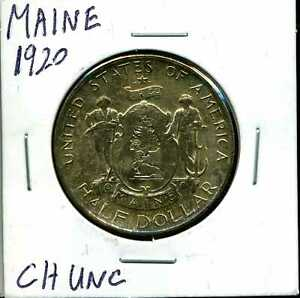 1920 50C MAINE COMMEMORATIVE HALF DOLLAR IN CHOICE UNCIRCULATED CONDITION 01003