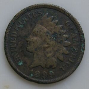 1899 INDIAN HEAD PENNY VG