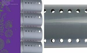 MAGNETIC HAIR ROLLER GREY 2 INCH STRONG MATERIAL UNBREAKABLE MATERIAL CURL