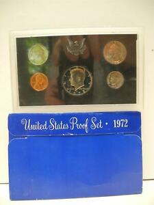 1972 UNITED STATES US MINT PROOF SET IN ORIGINAL PACKAGE