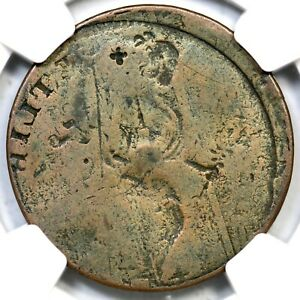 1787  G.2 NGC VG 8 REV BROCKAGE CONNECTICUT COLONIAL COPPER COIN
