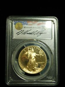 Click now to see the BUY IT NOW Price! 1988 W PROOF AMERICAN GOLD EAGLE   PCGS PR69CAM   MICHAEL REGAN LEGACY SERIES