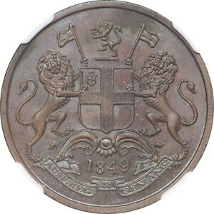 Click now to see the BUY IT NOW Price! BRITISH INDIA 1849 PATTERN PROOF COPPER 1/4 ANNA VICTORIA NGC PF65