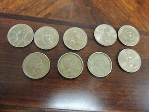 MODERN ASSORTED UNITED STATES DOLLAR COINS
