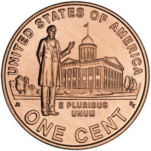 2009 D UNC PROFESSIONAL IN CARDBOARD LINCOLN CENT ONE PENNY LINCOLN MEMORIAL