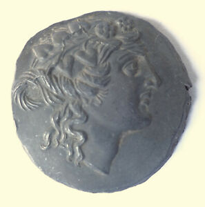 10   ANCIENT REPRO COIN. LEAD COIN.LYSIMACHUS