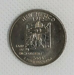 2008 D NEW MEXICO STATE QUARTER.  UNCIRCULATED UNCERTIFIED.