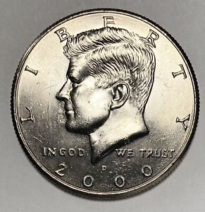 2000 D KENNEDY HALF DOLLAR 50 CENTS DOUBLE DIE REVERSE ERROR DDR COIN   2943