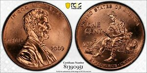 2009 LINCOLN CENT FORMATIVE YEARS PCGS MS66 RD